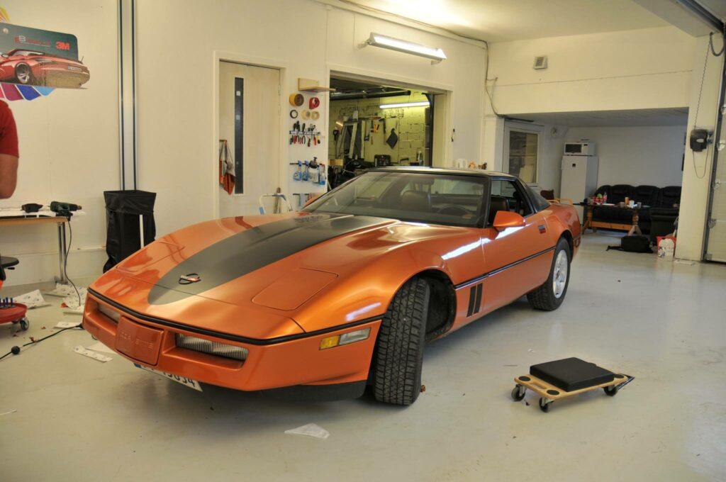 Helfoliert Chevrolet Corvette